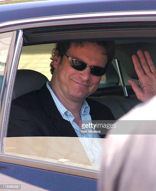 Colin Firth during 2005 Cannes Film Festival Sightings Day 4 in Cannes France