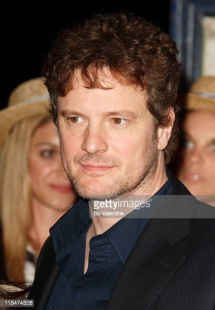 Colin Firth during 2007 Cannes Film Festival 'St Trinian's' Party at Long Beach in Cannes France