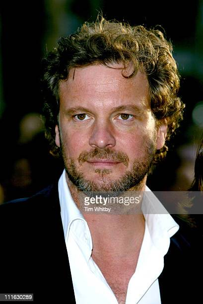 Colin Firth during 'Nanny McPhee' London Premiere Arrivals at UCI Empire Leicester Square in London Great Britain
