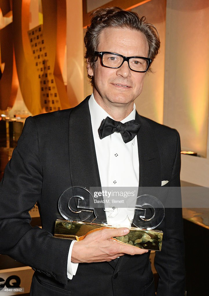 Colin Firth, winner of the Leading Man award, attends the GQ Men Of The Year awards in association with Hugo Boss at The Royal Opera House on September 2, 2014 in London, England.