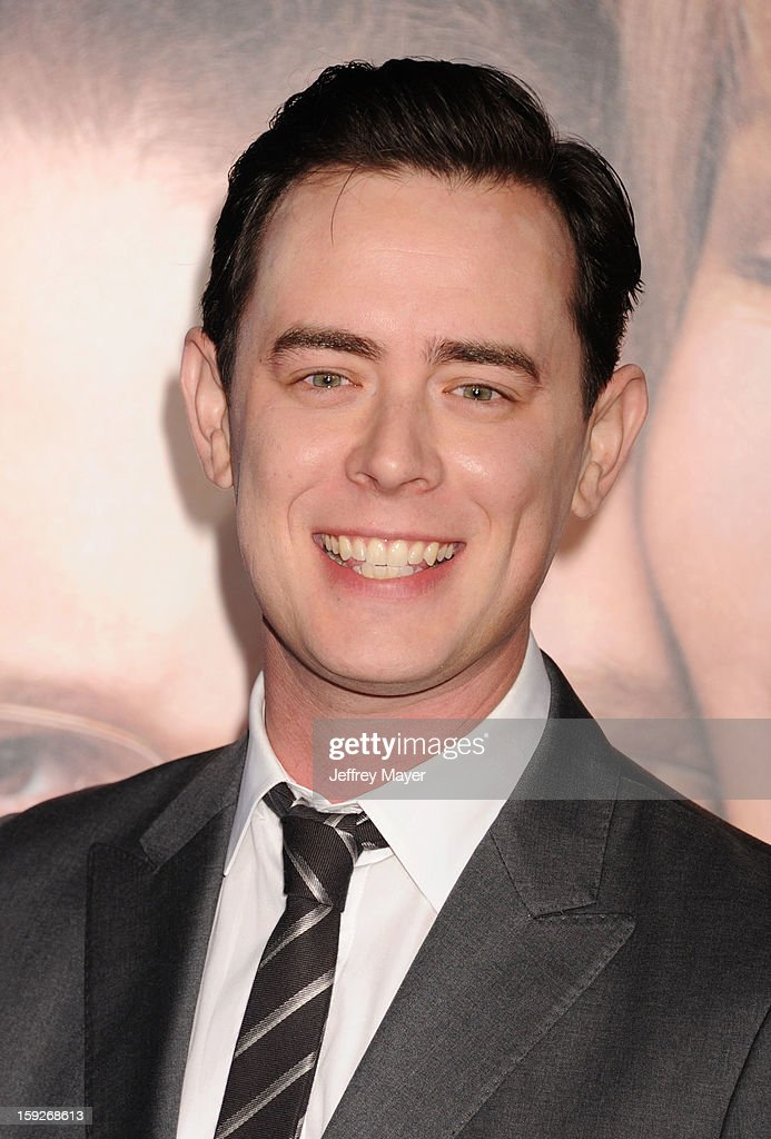 <a gi-track='captionPersonalityLinkClicked' href=/galleries/search?phrase=Colin+Hanks&family=editorial&specificpeople=584005 ng-click='$event.stopPropagation()'>Colin Hanks</a> arrives at the 'The Guilt Trip' - Los Angeles Premiere at Regency Village Theatre on December 11, 2012 in Westwood, California.