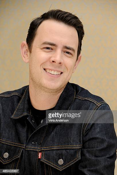 Colin Hanks at the 'Fargo' Press Conference at the Four Seasons Hotel on April 16 2014 in Beverly Hills California