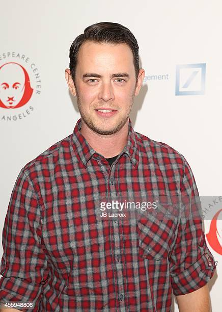 Colin Hanks attends the 24th Annual Simply Shakespeare Benefit Reading Of 'As You Like It' held at Freud Playhouse UCLA on September 22 in Westwood...