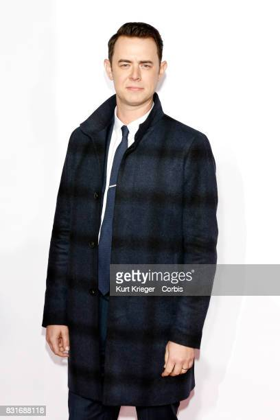 Image has been digitally retouched Colin Hanks attends the People´s Choice Awards 2016 in Los Angeles California on January 6 2016