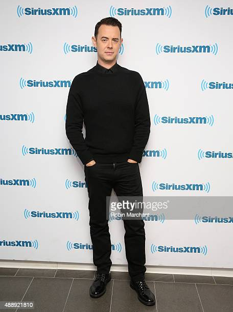 Colin Hanks visits at SiriusXM Studios on September 18 2015 in New York City