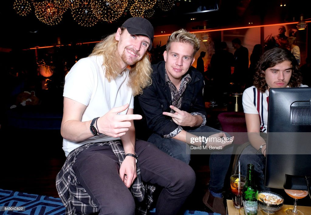 Colin Jones from Circa Waves attends the Destiny 2 launch event on PlayStation 4. Available from Wednesday 6th September 2017 #Destiny2 at Mondrian Hotel on September 5, 2017 in London, England.