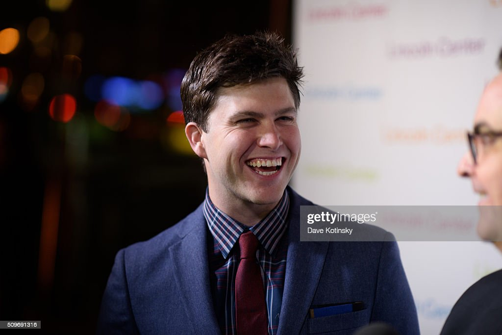 <a gi-track='captionPersonalityLinkClicked' href=/galleries/search?phrase=Colin+Jost&family=editorial&specificpeople=4809340 ng-click='$event.stopPropagation()'>Colin Jost</a> arrives at Lincoln Center's American Songbook Gala Honors Lorne Michaels at Lincoln Center for the Performing Arts on February 11, 2016 in New York City.