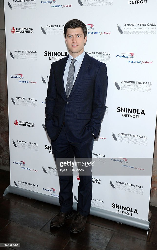 Colin Jost attends the 2nd Annual New York Police Fire Widows' Children's Benefit Fund 'Kick Off To Summer' Benefit at Empire Hotel Rooftop on May 13...