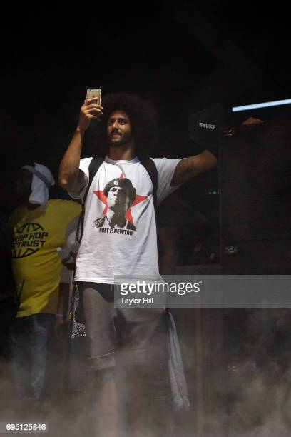 Colin Kaepernick attends the 2017 Hot 97 Summer Jam at MetLife Stadium on June 11 2017 in East Rutherford New Jersey