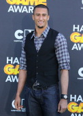 Colin Kaepernick attends the Third Annual Hall of Game Awards hosted by Cartoon Network at Barker Hangar on February 9 2013 in Santa Monica California
