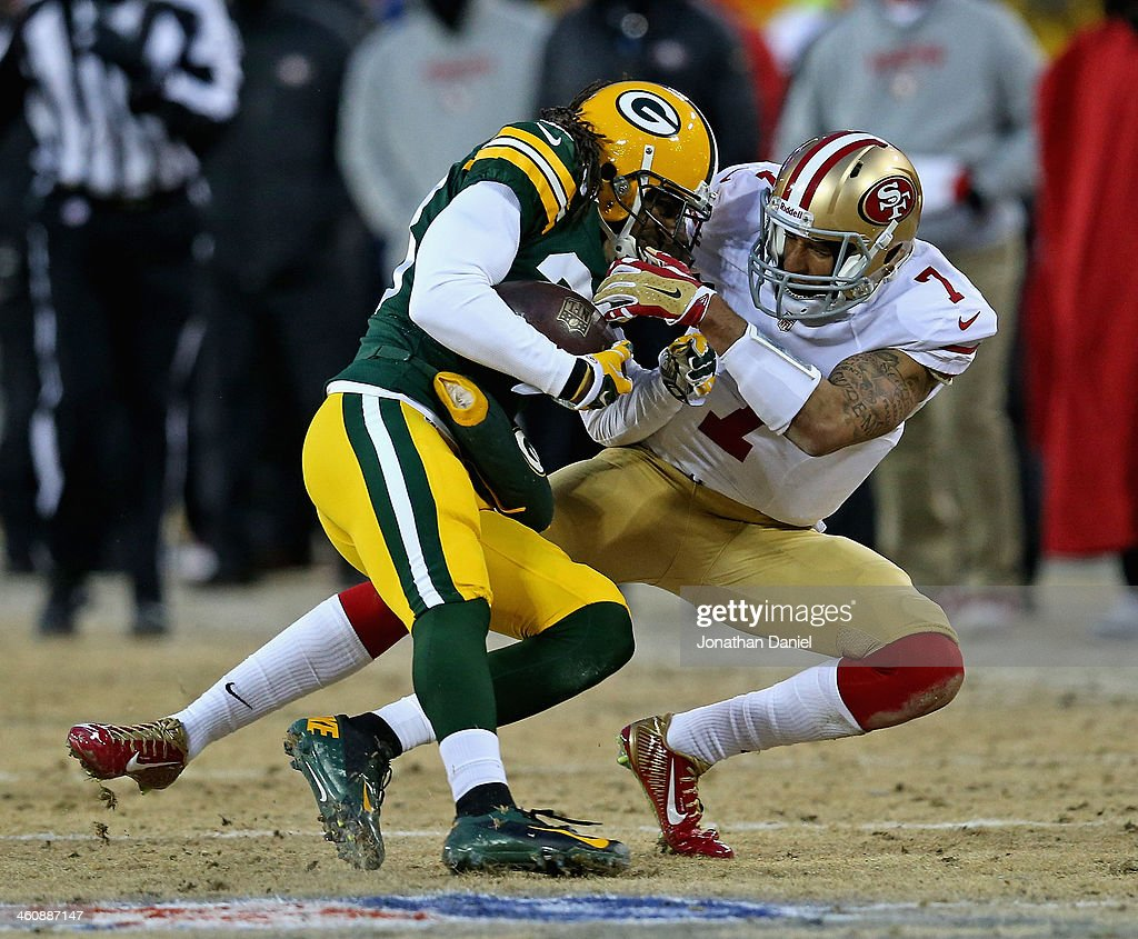 Wild Card Playoffs - San Francisco 49ers v Green Bay Packers