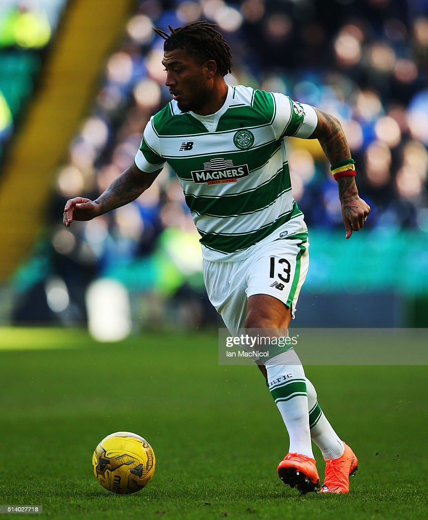 <a gi-track='captionPersonalityLinkClicked' href=/galleries/search?phrase=Colin+Kazim-Richards&family=editorial&specificpeople=684189 ng-click='$event.stopPropagation()'>Colin Kazim-Richards</a> of Celtic controls the ball during the William Hill Scottish Cup Quarter Final match between Celtic and Greenock Morton at Celtic Park Stadium on March 6, 2016 in Glasgow, Scotland.