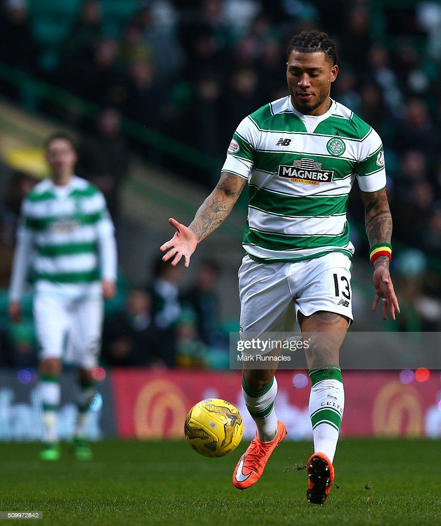 <a gi-track='captionPersonalityLinkClicked' href=/galleries/search?phrase=Colin+Kazim-Richards&family=editorial&specificpeople=684189 ng-click='$event.stopPropagation()'>Colin Kazim-Richards</a> of Celtic in action during the Ladbrokes Scottish Premiership match between Celtic and Ross County at Celtic Park Stadium on February 13, 2016 in Motherwell, Scotland.