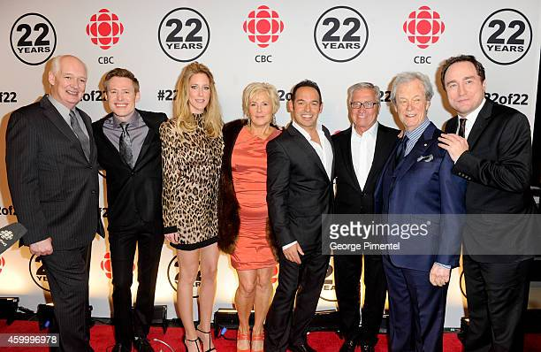 Colin Mochrie Gavin Crawford Susan Kent Cathy Jones Shaun Majumder Danny Williams Gordon Pinsent and Mark Critch attend the This Hour Has 22 Minutes...