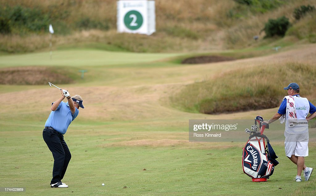 <a gi-track='captionPersonalityLinkClicked' href=/galleries/search?phrase=Colin+Montgomerie&family=editorial&specificpeople=157549 ng-click='$event.stopPropagation()'>Colin Montgomerie</a> of Scotland during the first round of The Senior Open Championship at Royal Birkdale on July 25, 2013 in Southport, England.