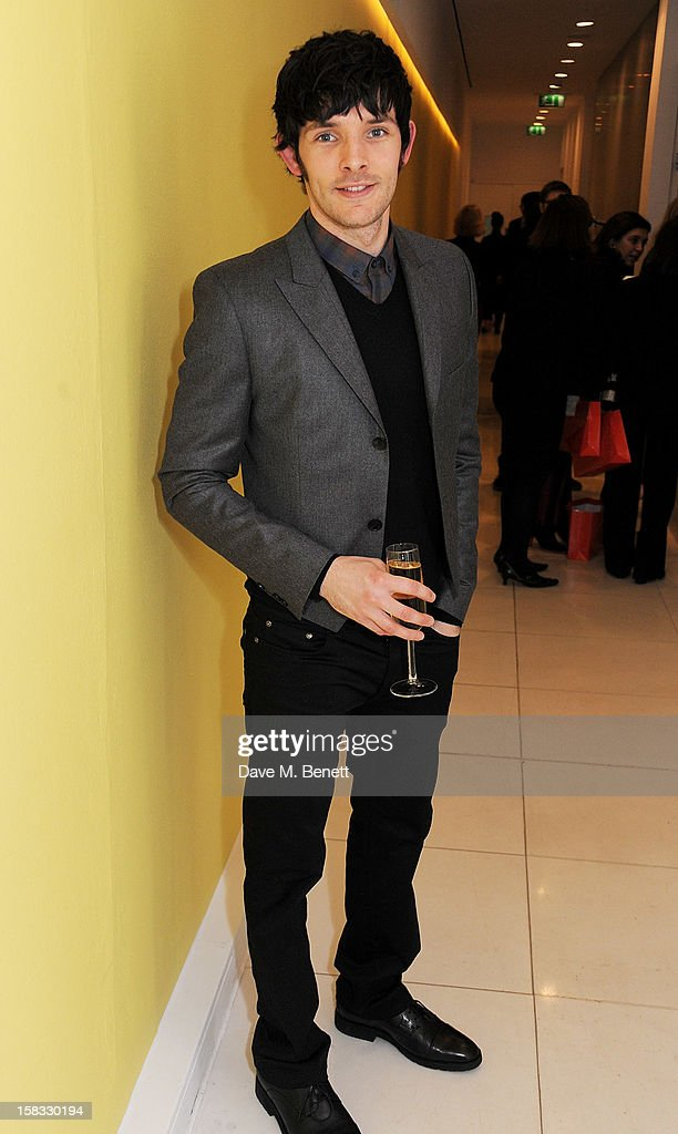 Colin Morgan attends the English National Ballet Christmas Party at St Martins Lane Hotel on December 13, 2012 in London, England.