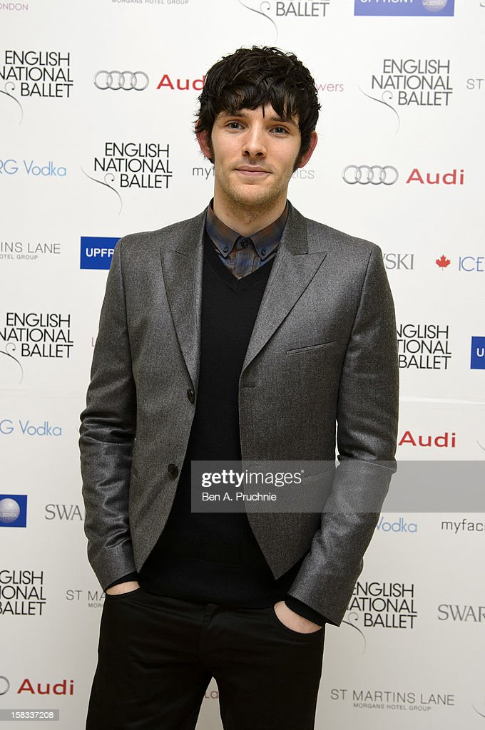 Colin Morgan attends the English National Balletss Christmas Party at St Martins Lane Hotel on December 13, 2012 in London, England.