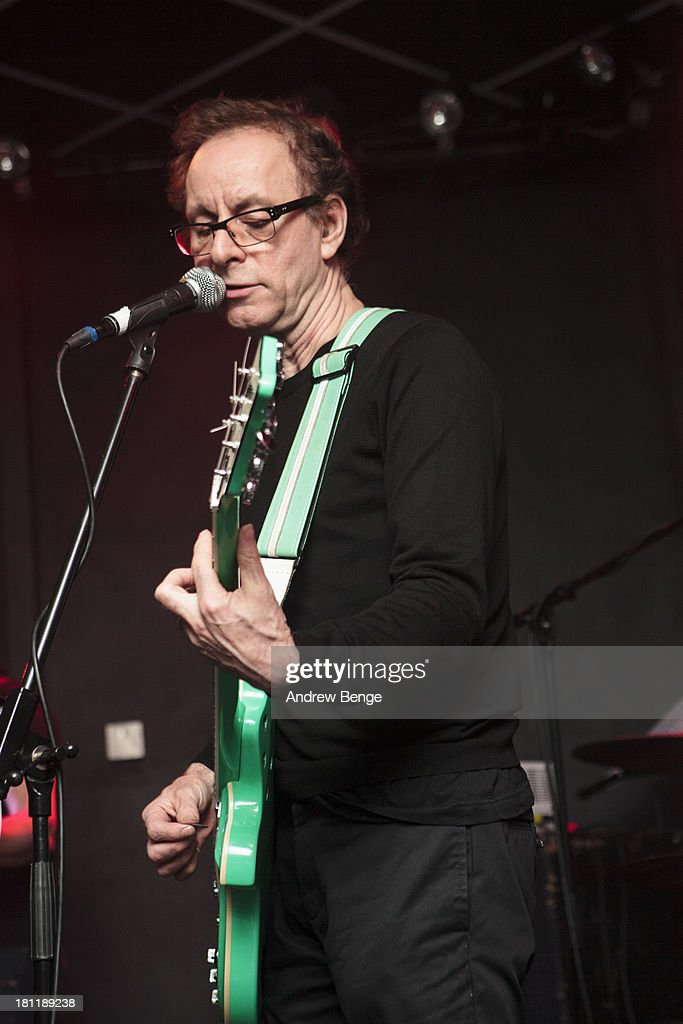 Colin Newman of Wire performs on stage at Brudenell Social Club on September 19, 2013 in Leeds, England.