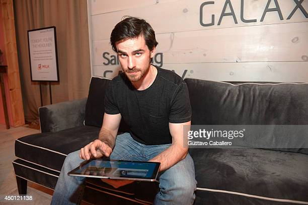 Colin O'Donoghue at the Samsung Galaxy Artist Lounge at the 2014 CMA Music Festival on June 5 2014 in Nashville Tennessee