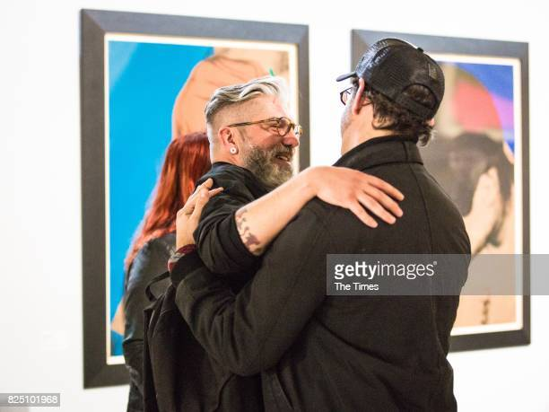 Colin O'Mara during the opening of the Andy Warhol exhibition at the Wits Art Museum on July 26 2017 in Johannesburg South Africa The exhibition is...