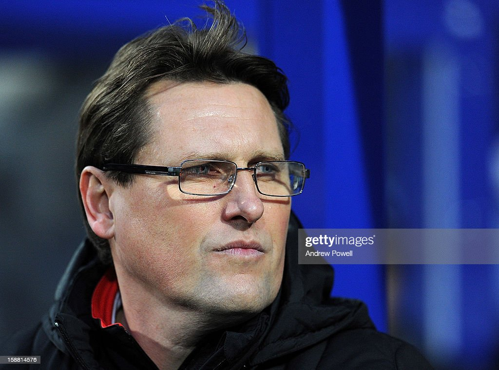 Colin Pascoe assistant manager of Liverpool during the Barclays Premier League match between Queens Park Rangers and Liverpool at Loftus Road on December 30, 2012 in London, England.