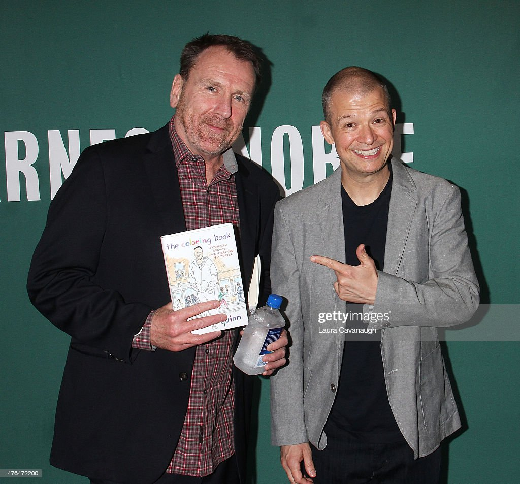 Coloring book quinn - Colin Quinn And Jim Norton At Book Signing For Colin Quinn S Book The Coloring Book