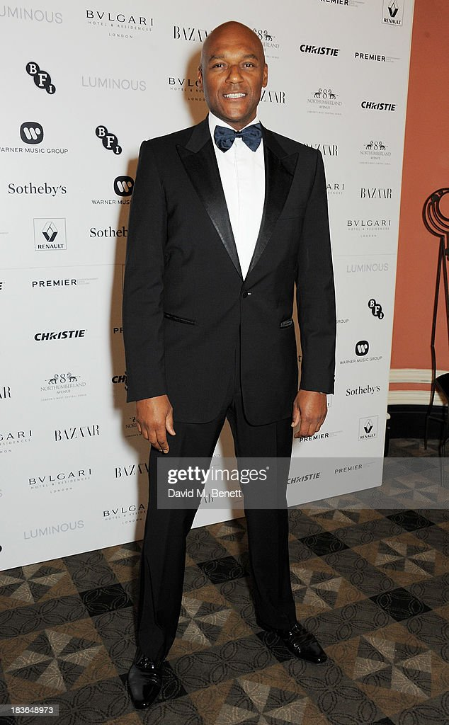 Colin Salmon attends a BFI Luminous Gala ahead of the London Film Festival at 8 Northumberland Avenue on October 8, 2013 in London, England.