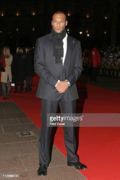 Colin Salmon during 'Blood Diamond' London Premiere Arrivals at Odeon Leicester Square in London Great Britain