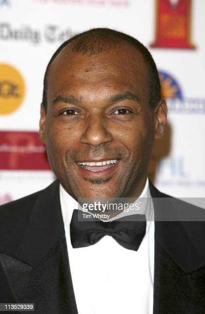 Colin Salmon during Sony Entertainment Television Asian Sports Personality of the Year Awards Arrivals at London Hilton in London Great Britain