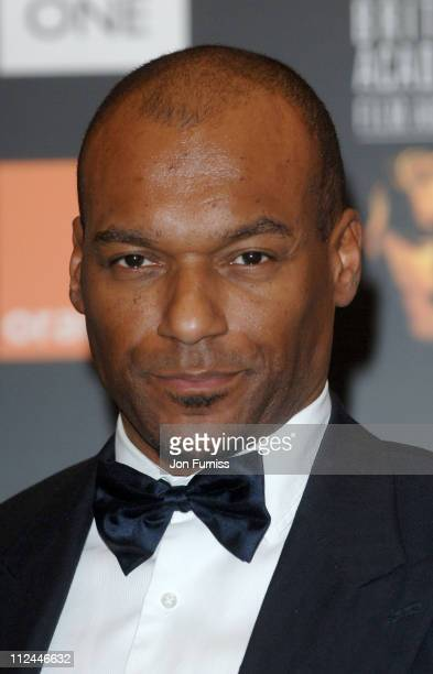 Colin Salmon during The Orange British Academy Film Awards 2006 Press Room at Odeon Leicester Square in London Great Britain