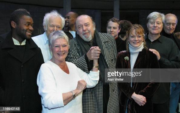 Colin Salmon Michael Pennington Judi Dench Sir Peter Hall Samantha Bond Martin Jarvis and Charles Dance