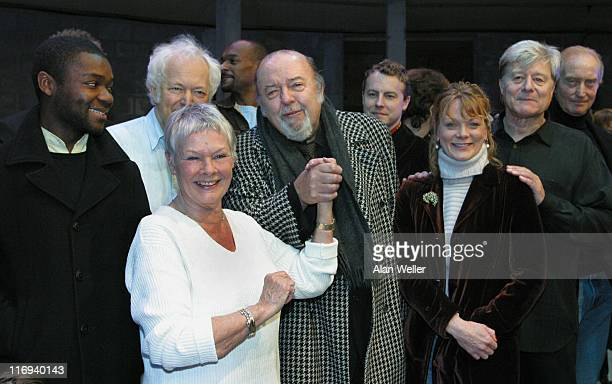 Colin Salmon Michael Pennington Judi Dench Sir Peter Hall Samantha Bond Martin Jarvis and Charles Dance