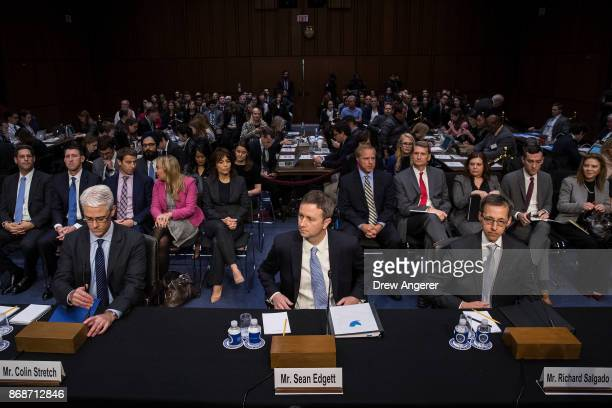 Colin Stretch general counsel at Facebook Sean Edgett acting general counsel at Twitter and Richard Salgado director of law enforcement and...