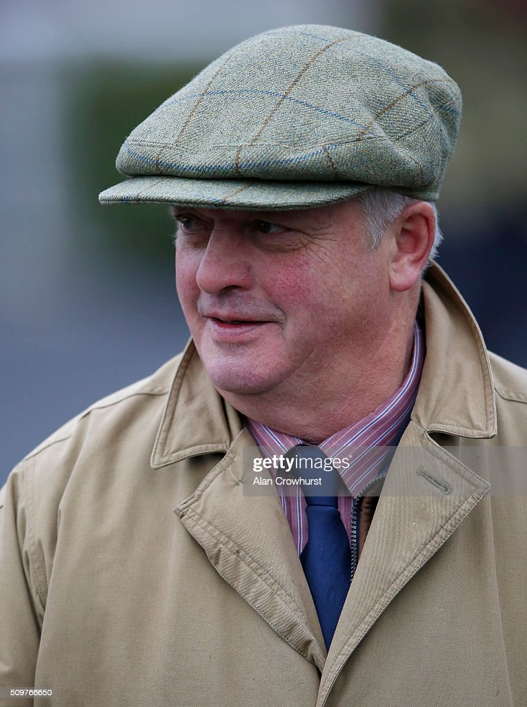 Colin Tizzrd poses at Kempton Park racecourse on February 12, 2016 in Sunbury, England.