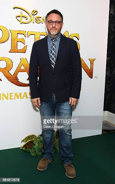 Colin Trevorrow attends the UK gala screening of 'Pete's Dragon' at Ham Yard Hotel on July 31 2016 in London England