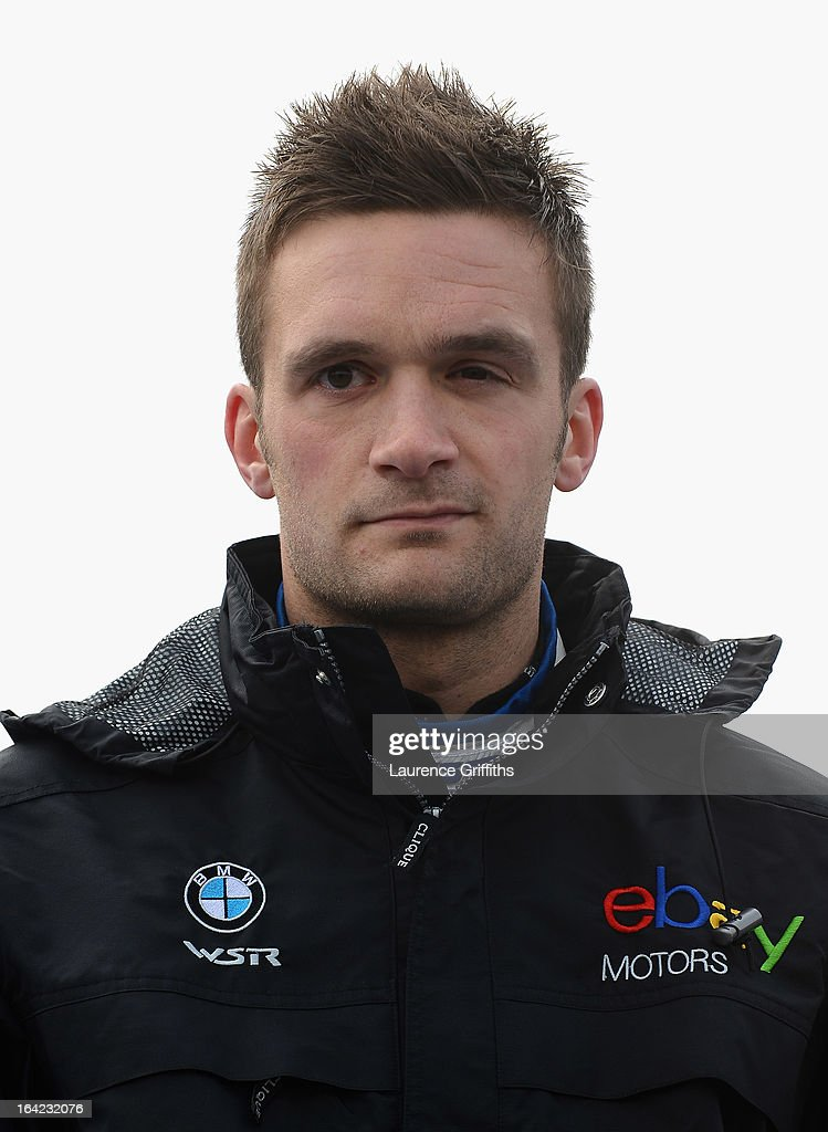 Colin Turkington of Ebay Motors poses for a portrait during the BTCC Media Day at Donington Park on March 21, 2013 in Castle Donington, England.