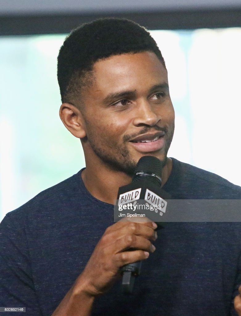 Colin Warner attends Build to discuss 'Crown Heights' at Build Studio on August 16, 2017 in New York City.