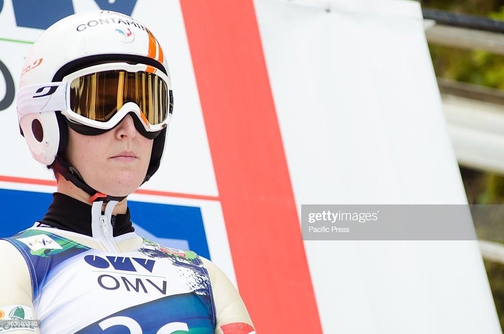 <a gi-track='captionPersonalityLinkClicked' href=/galleries/search?phrase=Coline+Mattel&family=editorial&specificpeople=5719079 ng-click='$event.stopPropagation()'>Coline Mattel</a> (FRA) at the Ljubno FIS World Cup Ladies Ski Jumping.
