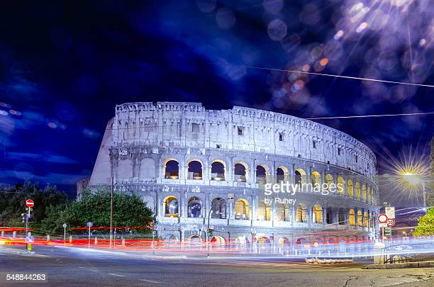Coliseum by night, Rome, Italy