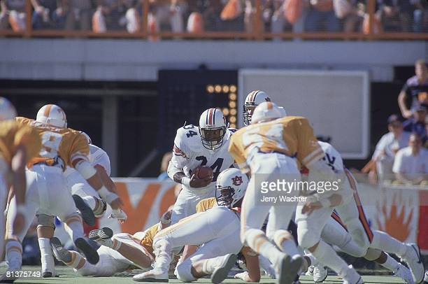 Coll Football Auburn's Bo Jackson in action vs Tennessee Knoxville TN 9/28/1985