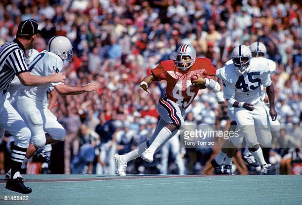 Coll Football Ohio State Archie Griffin in action vs Penn State Columbus OH 9/20/1975