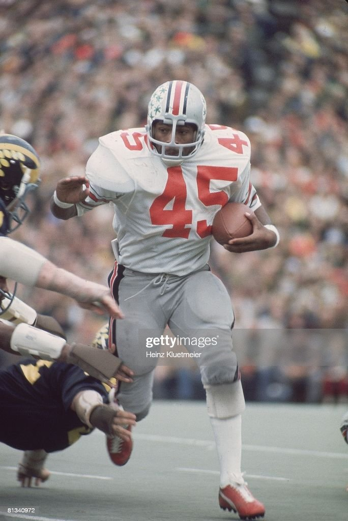 Coll Football Ohio State's Archie Griffin in action vs Michigan Ann Arbor MI