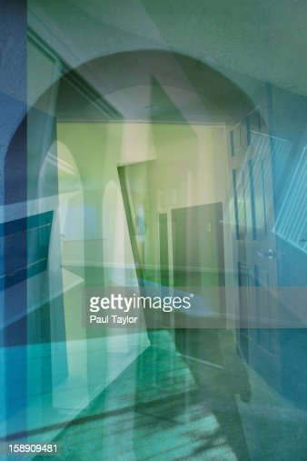 Collage of House : Stock Photo