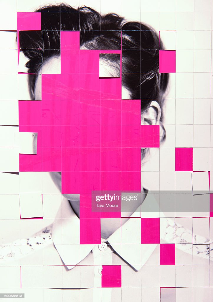 collage of woman : Stock Photo