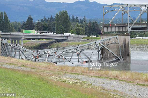 Collapsed I-5 Bridge Skagit County