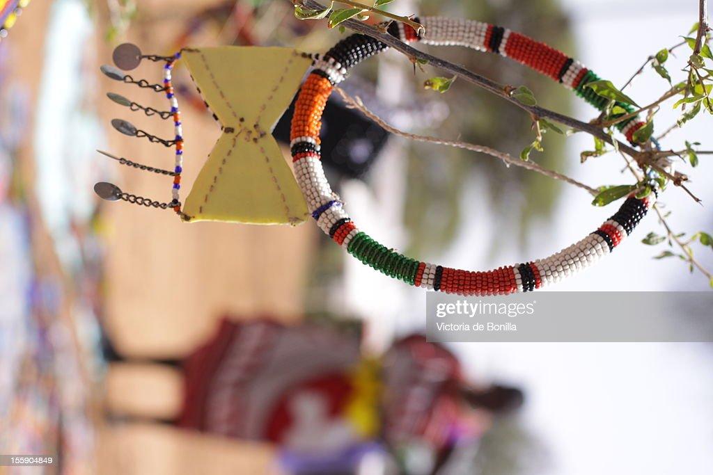 Collar masai : Stock Photo