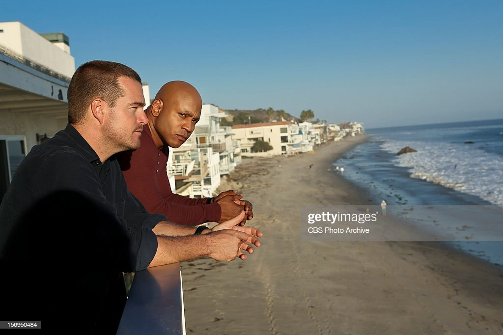 """'Collateral'"""" Pictured (L-R): Chris O'Donnell (Special Agent G. Callen) and LL COOL J (Special Agent Sam Hanna). The"""