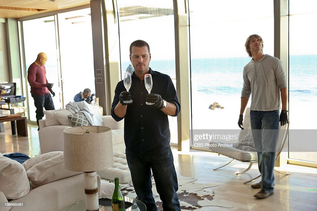 "'Collateral'"" Pictured (L-R): LL COOL J (Special Agent Sam Hanna), Chris O'Donnell (Special Agent G. Callen) and Eric Christian Olsen (LAPD Liaison Marty Deeks). The"