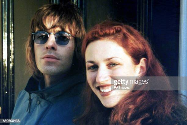 Collect photograph dated 2000 of Sarah Lawson and pop star Liam Gallagher taken outside Liam Gallagher's London home Ms Lawson's father pleaded...