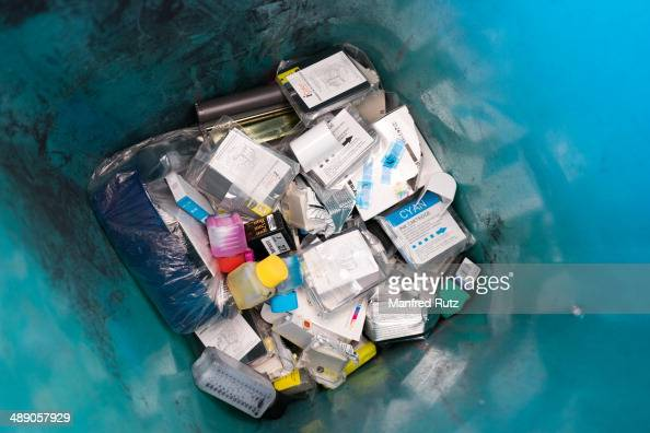 Collected ink cartridge